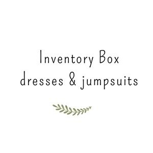 Inventory Box of 10 dresses and jumpsuits